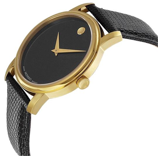 Preload https://item4.tradesy.com/images/movado-black-and-gold-museum-dial-leather-strap-watch-new-watch-2910253-0-0.jpg?width=440&height=440