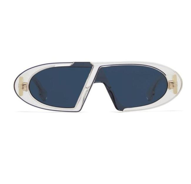 Item - Crystal Oblique - 09a9 / Blue Shaded Gold Sunglasses