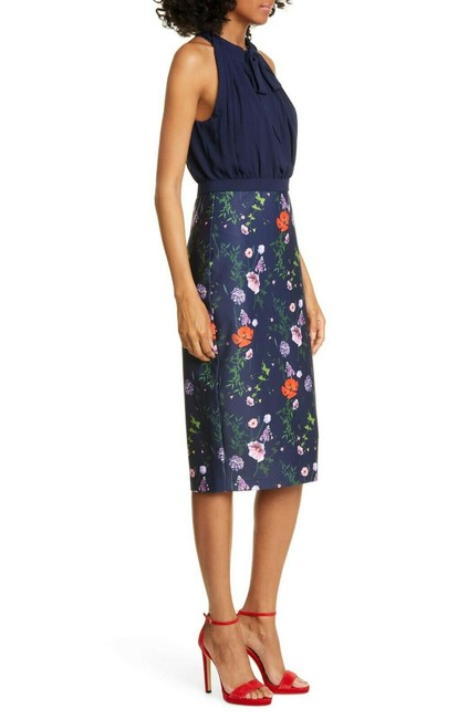 Ted Baker Shimma Bodycon In Hedgerow Print Mid-length Work/Office Dress Size 14 (L) Ted Baker Shimma Bodycon In Hedgerow Print Mid-length Work/Office Dress Size 14 (L) Image 3