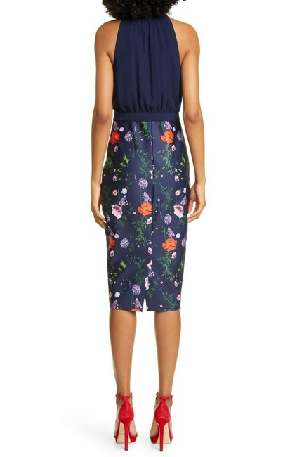 Ted Baker Shimma Bodycon In Hedgerow Print Mid-length Work/Office Dress Size 14 (L) Ted Baker Shimma Bodycon In Hedgerow Print Mid-length Work/Office Dress Size 14 (L) Image 4