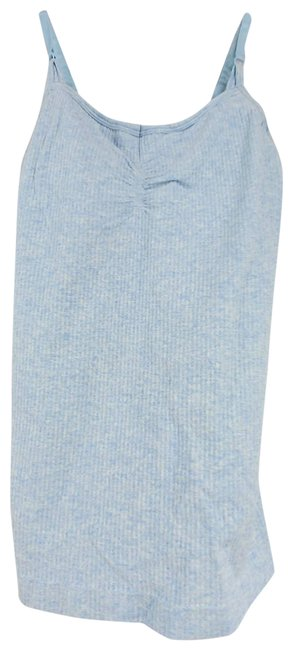 Item - Blue Ribbed Activewear Top Size 0 (XS)