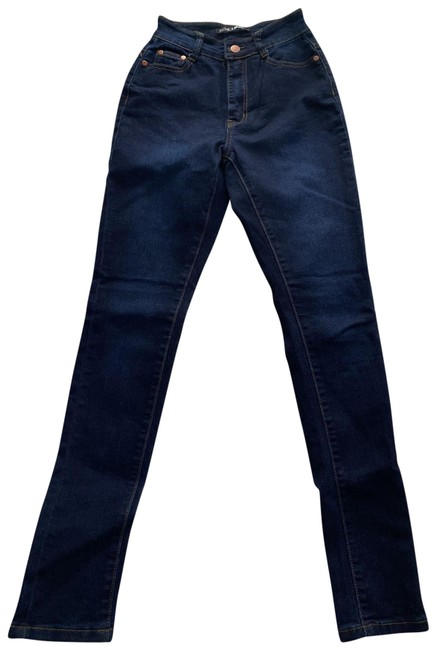 Item - Dark Blue Rinse High Wash Skinny Jeans Size 4 (S, 27)