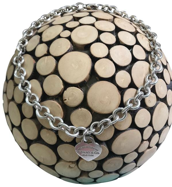 Item - 925 Silver Please Return To Necklace