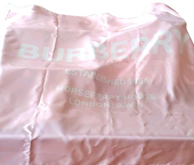 Burberry Pink Horseferry Print Silk New Scarf/Wrap Burberry Pink Horseferry Print Silk New Scarf/Wrap Image 1