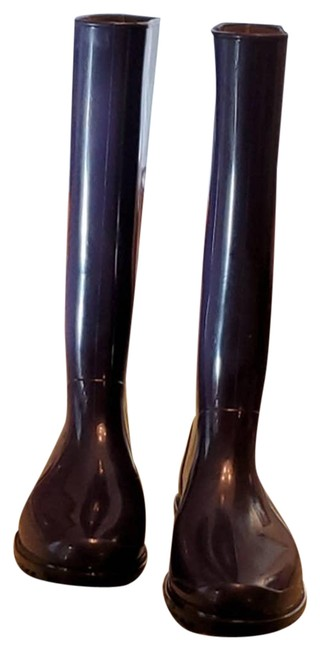 Item - Blue Navy Rubber Rain Boots/Booties Size EU 39 (Approx. US 9) Regular (M, B)