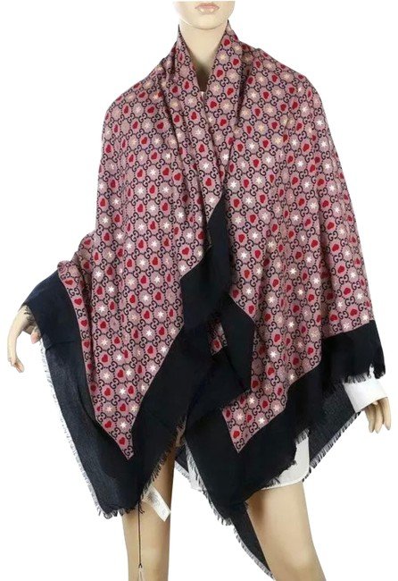 Item - Blue Red Pink Gold New Current Big Dimmhert Modal Silk Oversized Shawl Scarf/Wrap