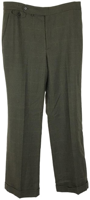 Item - Olive Green Vintage Pure Wool Pants Size 12 (L, 32, 33)