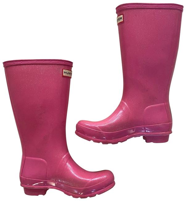 Item - Pink Sparkles Girls Boots/Booties Size US 4 Regular (M, B)
