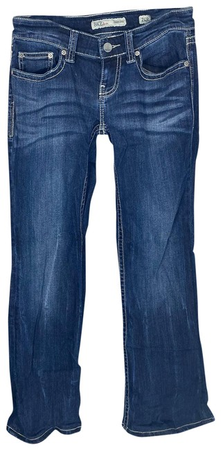 Item - Blue Sabrina Buckle 24r Boot Cut Jeans Size 24 (0, XS)