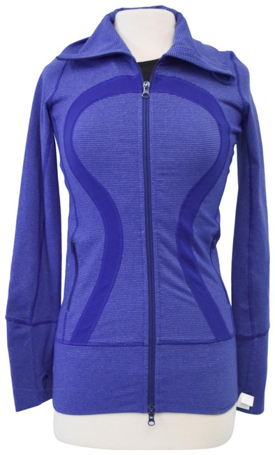 Item - Purple Zip-up Small (4) Activewear Outerwear Size 4 (S)