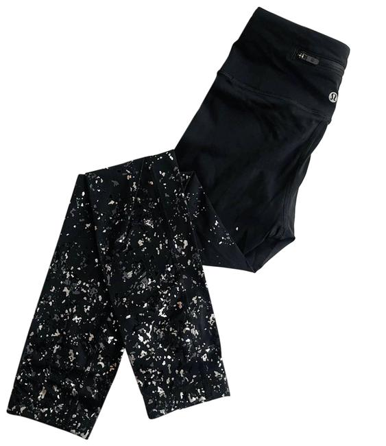 Item - Black Speed Wunder Crop Glitter Ombré Special Edition Rare Activewear Bottoms Size 2 (XS, 26)