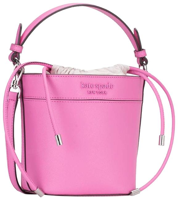 Item - Pink Bucket Bag Cameron Monotone Small Cocktail Dress Size OS (one size)