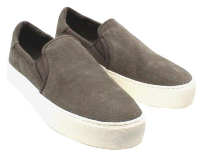 Item - Gray Women's Jass Suede Slip-on Sneakers Boots/Booties Size US 8 Regular (M, B)