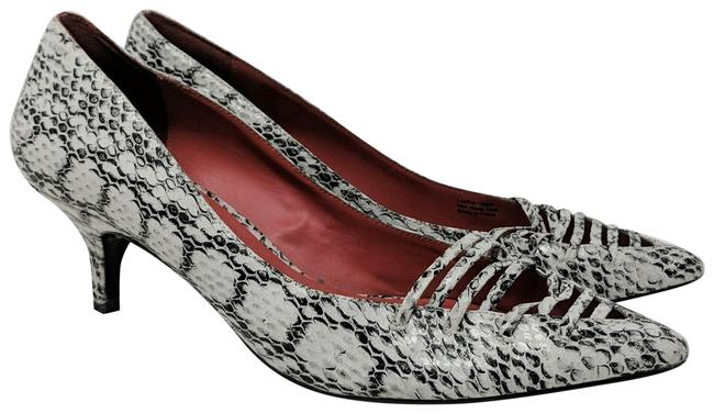Item - Black Snake Print Pumps Size US 9 Regular (M, B)