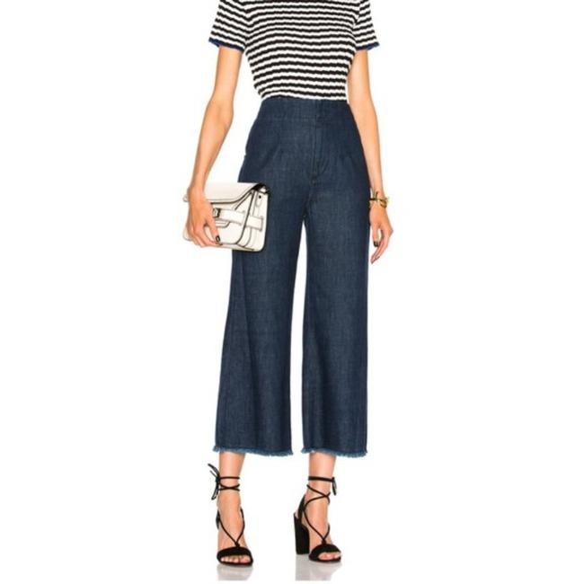 Citizens of Humanity High Waisted Palazzo Flared Wide Leg Capri/Cropped Jeans Size 26 (2, XS) Citizens of Humanity High Waisted Palazzo Flared Wide Leg Capri/Cropped Jeans Size 26 (2, XS) Image 2