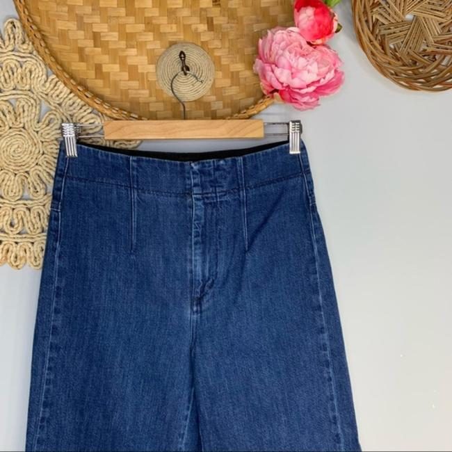 Citizens of Humanity High Waisted Palazzo Flared Wide Leg Capri/Cropped Jeans Size 26 (2, XS) Citizens of Humanity High Waisted Palazzo Flared Wide Leg Capri/Cropped Jeans Size 26 (2, XS) Image 3