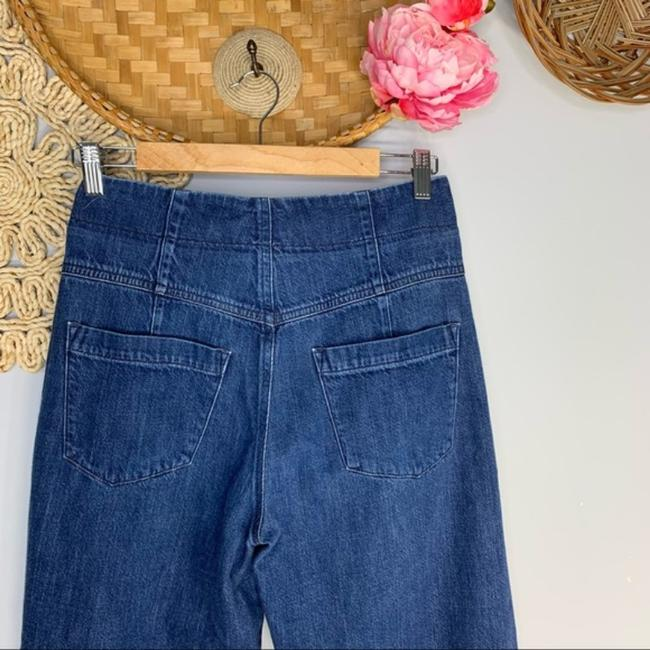 Citizens of Humanity High Waisted Palazzo Flared Wide Leg Capri/Cropped Jeans Size 26 (2, XS) Citizens of Humanity High Waisted Palazzo Flared Wide Leg Capri/Cropped Jeans Size 26 (2, XS) Image 7