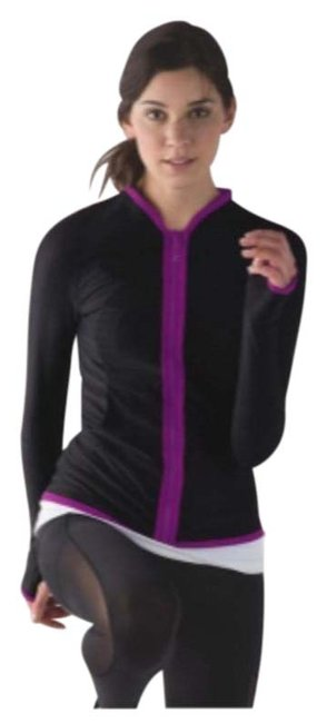 Item - Pink Black Reversible Your Bliss Activewear Outerwear Size 6 (S)