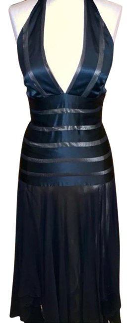Item - Black Halter High Mid-length Night Out Dress Size 2 (XS)