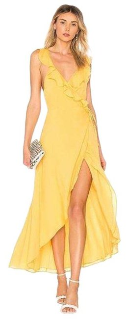 Item - Yellow Fillmore In Golden Sun Casual Maxi Dress Size 4 (S)