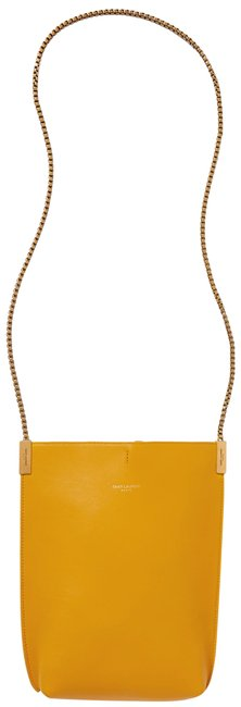 Item - Suzanne Mini Yellow Leather Shoulder Bag