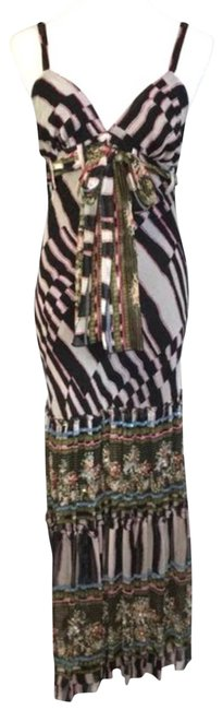 Item - Black Kingston Beaded Maxi Long Formal Dress Size 4 (S)