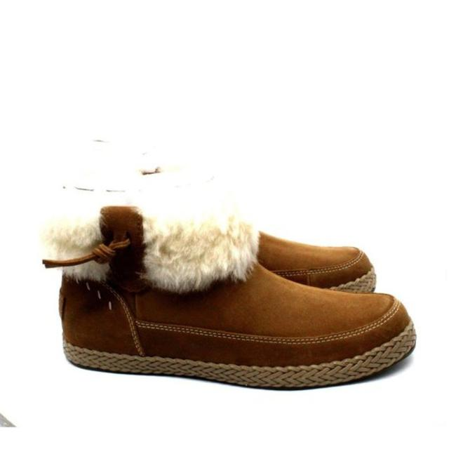 Item - Brown Women's Genuine Shearling Lined Elowen Boots/Booties Size US 7.5 Regular (M, B)