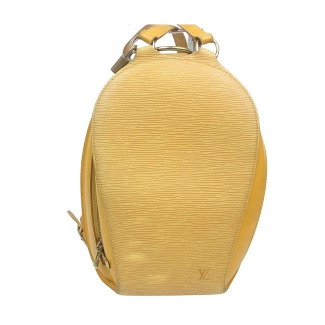 Item - Mabillon #16839l28 Yellow Backpack