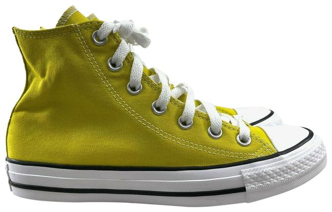 Item - Bold Citron Yellow Chuck Taylor All Star High Top Lace Up Citron-unisex Sneakers Size US 7 Regular (M, B)