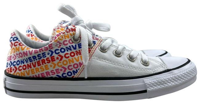 Item - Logo Print White All Star Madison Ox Low Top Lace Up Sneakers Size US 9 Regular (M, B)