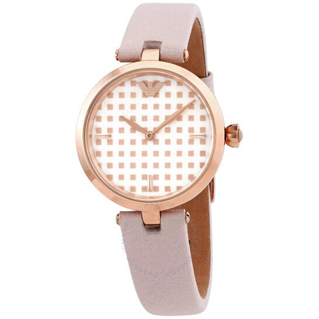 Item - Pink Ar11313 Quartz Mother Of Pear Dial Ladies Watch
