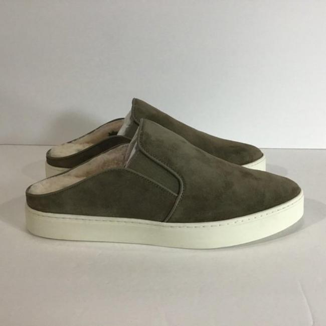 Item - Gray Green Garvey-2 Suede Slip On Backless Sneakers Size US 8 Regular (M, B)