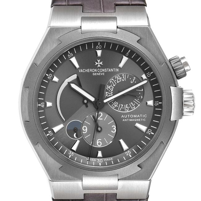 Item - Antracite Grey Box Overseas Dual Time Dial Mens 47450 Watch