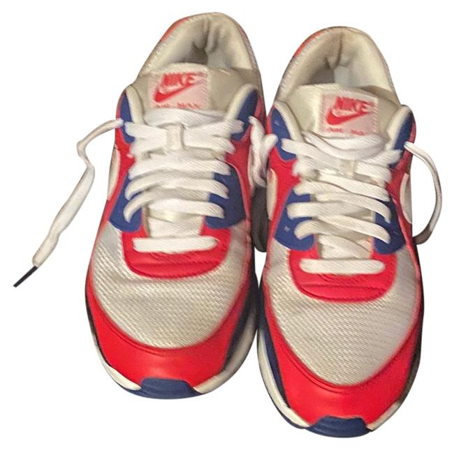 Item - Red White Blue Airmax 90 Usa Sneakers Size US 10.5 Regular (M, B)