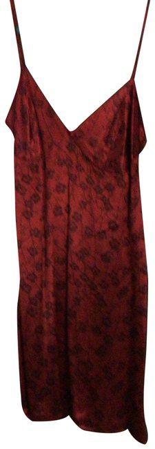 Item - Red and Black Vintage Short Casual Dress Size 8 (M)