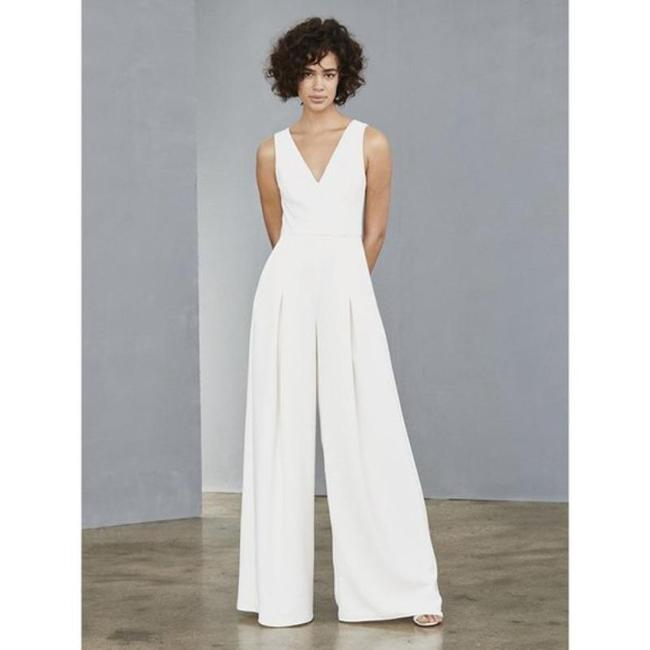 Item - White Lw136 Romper/Jumpsuit