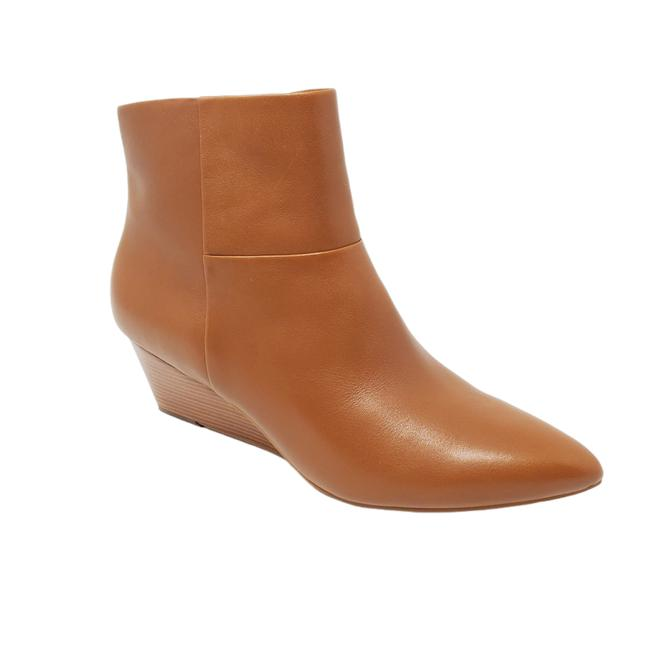 Item - Tan Camel Pointed Toe Leather Eneida Wedge Women's 9-b W15091 Boots/Booties Size US 9 Regular (M, B)
