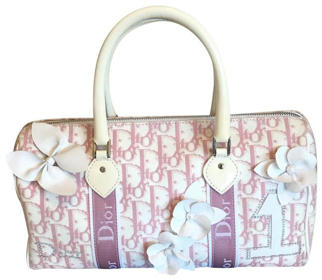 Item - Issimo Pink Canvas Satchel