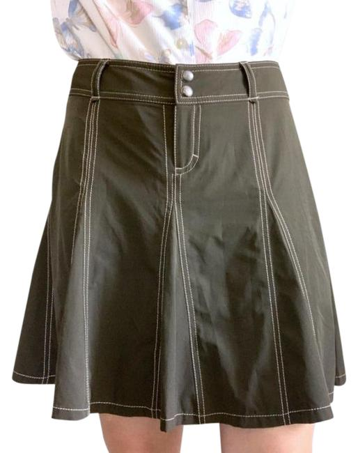 Item - Brown Pleated Tennis Activewear Bottoms Size Petite 8 (M)