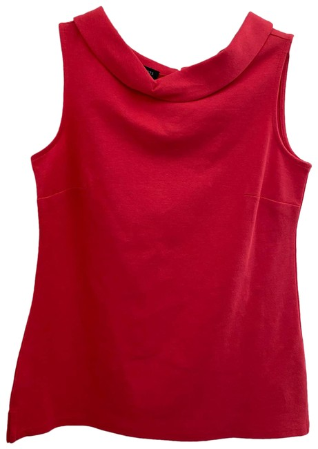 Item - Red XS Cowl Neck Sleeveless Blouse Size 2 (XS)