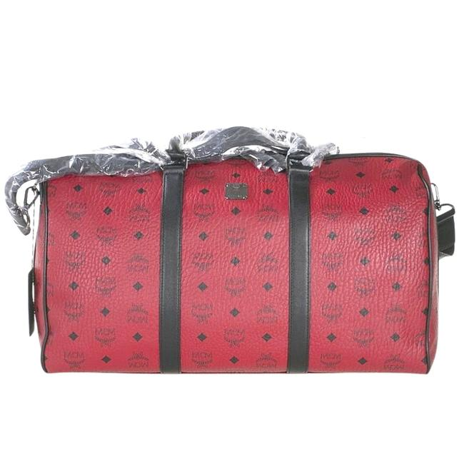 Item - Large Muv8sf002pk001 Red Leather Weekend/Travel Bag