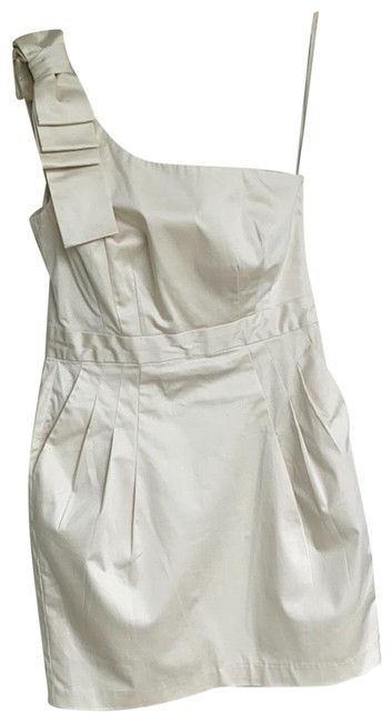 Item - Cream Na Short Cocktail Dress Size 8 (M)