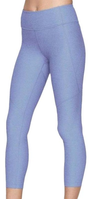 Item - Purple 3/4 Warmup In Lilac Activewear Bottoms Size 2 (XS, 26)