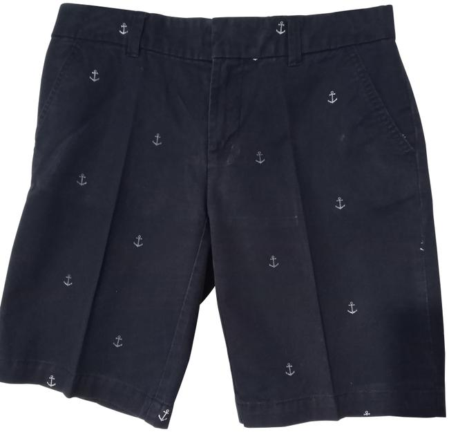 Item - Dark Blue and White Anchor Shorts Size 2 (XS, 26)