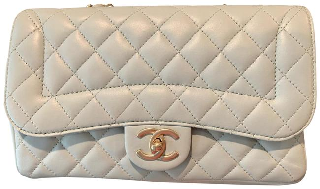 Item - Mademoiselle Classic Flap Medium Chic Quilted Mint Green Lambskin Leather Shoulder Bag