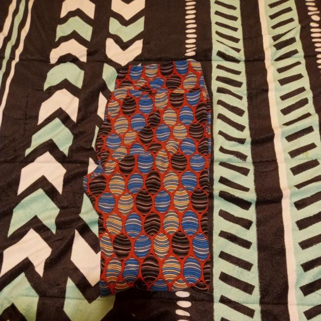 Item - Multi Colored Leggings Size OS (one size)
