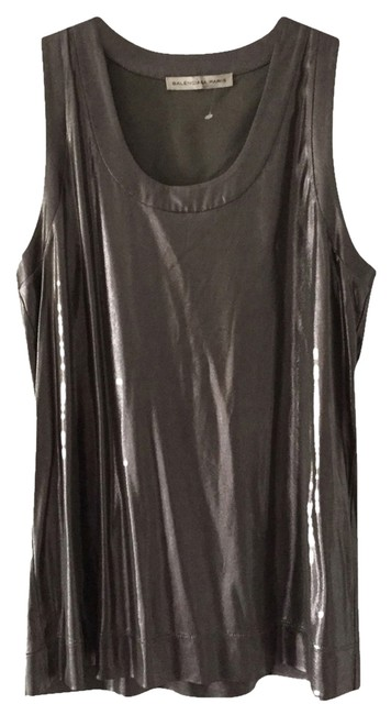Item - Metallic Silver Tank Top/Cami Size 6 (S)