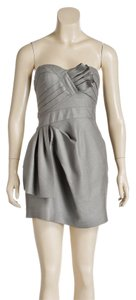 BCBG Max Azria short dress Gray on Tradesy