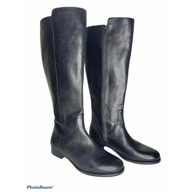 Item - Black Carly Leather Tall New #3470594 Boots/Booties Size US 7.5 Regular (M, B)