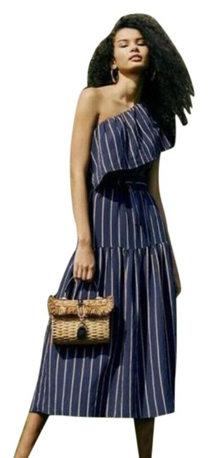 Item - Blue Mid-length Casual Maxi Dress Size 6 (S)